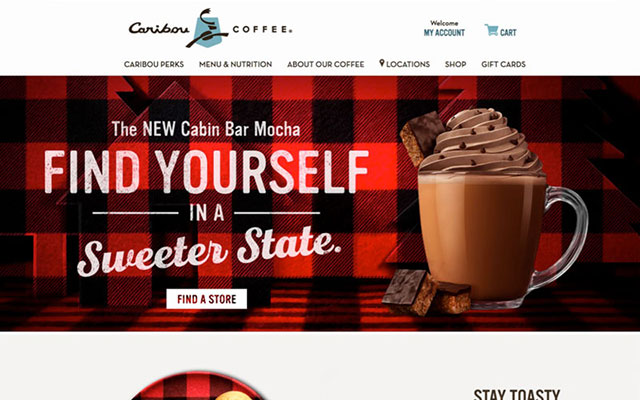 Caribou Coffee Redesign